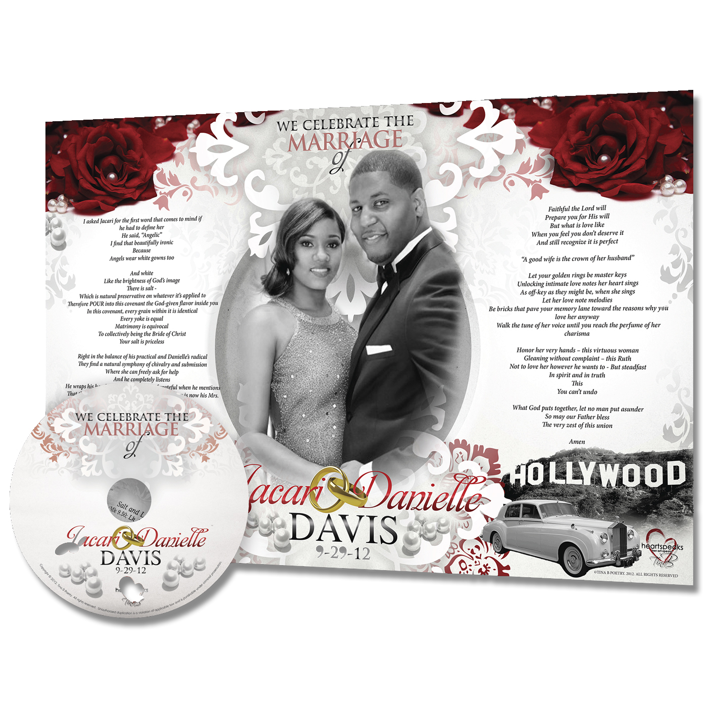 DFW Custom Wedding Song | Heartspeaks Poetry
